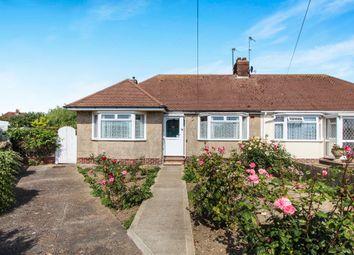 Thumbnail 2 bedroom semi-detached bungalow for sale in Milton Drive, Southwick, Brighton