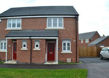 Thumbnail 2 bed semi-detached house for sale in Jovian Drive, Hollycroft, Hinckley