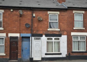 Thumbnail 2 bed terraced house to rent in Nottingham Road, Derby