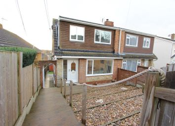 3 bed semi-detached house for sale in Clovelly Drive, Minster On Sea, Sheerness ME12