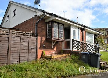 Thumbnail 1 bedroom semi-detached bungalow for sale in Willmore Grove, Birmingham, West Midlands.