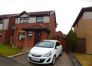 Thumbnail 3 bed detached house for sale in Castlehill Crescent, Chapelhall, Airdrie