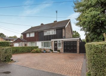Thumbnail 3 bed semi-detached house for sale in Palmers Close, Linton, Cambridge