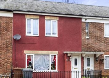 Thumbnail 2 bed terraced house to rent in Willesden Avenue, Peterborough, Cambridgeshire.