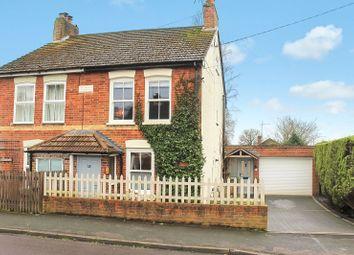 Thumbnail 2 bed semi-detached house for sale in Firacre Road, Ash Vale, Aldershot, Surrey