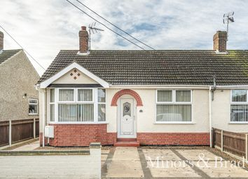 Thumbnail 2 bed semi-detached bungalow for sale in Highland Way, Lowestoft