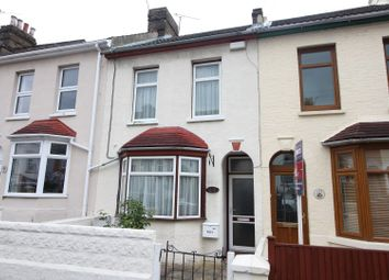 Thumbnail 3 bed terraced house for sale in Gordon Road, Rochester
