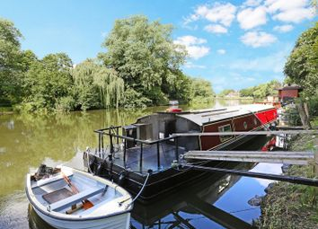 Thumbnail 2 bed houseboat for sale in Ryepeck Meadow, Chertsey Road, Shepperton