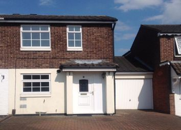Thumbnail 2 bed semi-detached house to rent in Dace, Tamworth