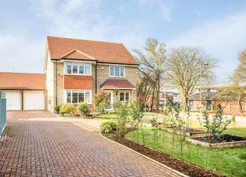 Thumbnail 4 bed detached house for sale in Lapwing Lane, Watchfield, Swindon