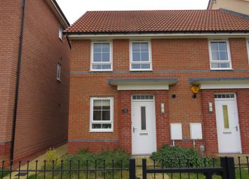 Thumbnail 2 bed end terrace house for sale in Richmond Lane, Kingswood, Hull