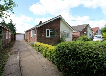 Thumbnail 2 bedroom detached bungalow for sale in Post Office Road, Little Plumstead, Norwich
