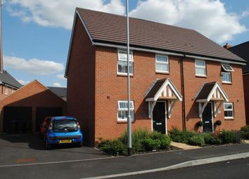 Thumbnail 3 bed semi-detached house for sale in Glebe Road, Boughton, Northampton