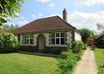 Thumbnail 4 bed detached bungalow for sale in Mill Road, Hethersett, Norwich