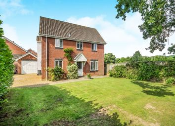 Thumbnail 3 bed detached house for sale in Fairfields, Cawston, Norwich