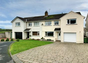 Thumbnail 4 bed semi-detached house for sale in 18 Caldecote Avenue, Cockermouth, Cumbria