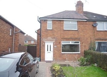 Thumbnail 3 bed semi-detached house to rent in Underwood Lane, Crewe, Cheshire