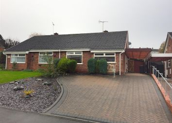 Thumbnail 2 bed bungalow for sale in Kestrel Way, Burton-On-Trent