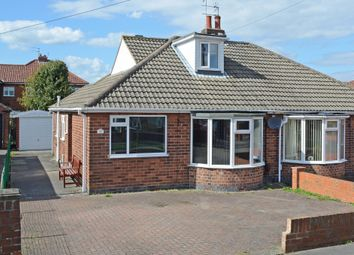 Thumbnail 2 bedroom semi-detached bungalow for sale in Melton Avenue, York