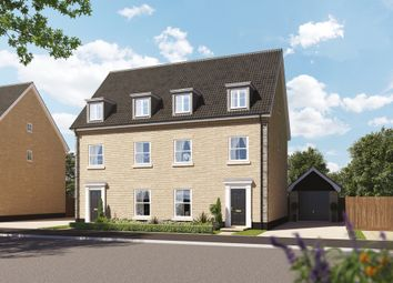 Thumbnail 4 bed semi-detached house for sale in Norwich Road, Kilverstone, Thetford