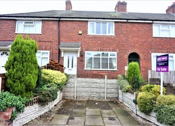 Thumbnail 3 bed terraced house for sale in Bailey Street, West Bromwich