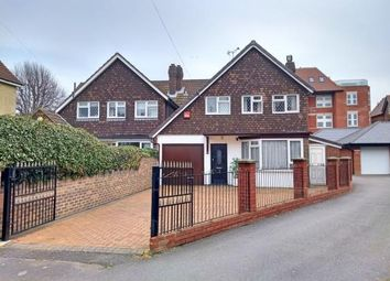 Thumbnail 3 bed link-detached house for sale in Whitwell Road, Southsea