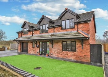 Thumbnail 4 bed detached house for sale in Felinfach, Colliery Road, Bedwas, Caerphilly