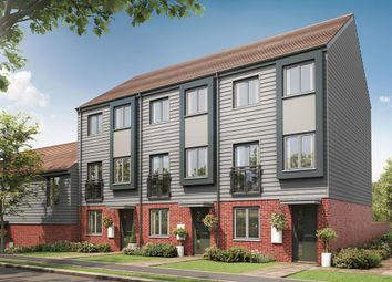 "Thumbnail 3 bed terraced house for sale in ""The Greyfriars"" at Eclipse, Sittingbourne Road, Maidstone"