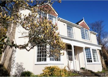 Thumbnail 4 bedroom detached house for sale in Park Road, Plymouth