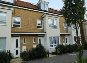 Thumbnail 4 bedroom town house to rent in Warwick Avenue, Broughton, Milton Keynes