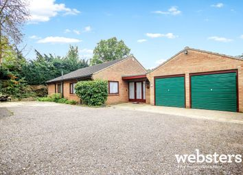 Thumbnail 3 bed detached bungalow for sale in Poplar Avenue, Off Newmarket Road, Norwich