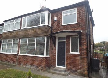 Thumbnail 3 bed semi-detached house to rent in 58, Heys Road, Prestwich