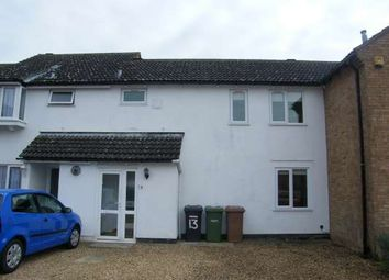 Thumbnail 3 bed terraced house to rent in Tantallon Court, Longthorpe, Peterborough