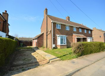 Thumbnail 3 bed semi-detached house for sale in Densole Way, Densole, Folkestone