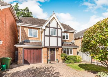 Thumbnail 4 bed detached house to rent in Queens Ride, Crowthorne
