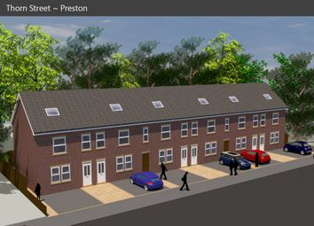 Thumbnail 3 bed town house for sale in Thorn Street, Preston, Lancashire