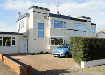 Thumbnail 4 bed semi-detached house for sale in West Park Avenue, Cliftonville, Margate