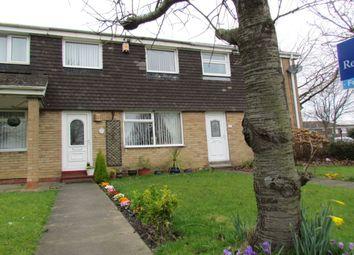 Thumbnail 3 bed terraced house for sale in Tudor Walk, Kingston Park, Newcastle Upon Tyne