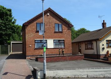 Thumbnail 3 bedroom detached house for sale in Hogarth Road, Whitwick, Leicestershire