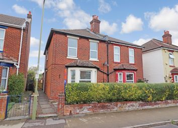 Thumbnail 3 bed semi-detached house for sale in The Crescent, Eastleigh, Hampshire