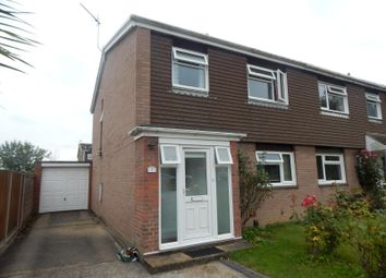 Thumbnail 3 bed semi-detached house to rent in Leicester Close, Colchester