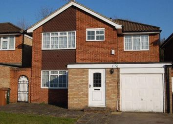 Thumbnail 3 bed flat to rent in Lemonfield Drive, Watford, Hertfordshire