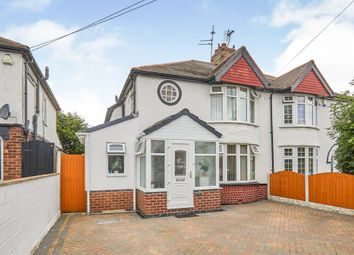 3 bed semi-detached house for sale in Grasmere Crescent, Sinfin, Derby DE24