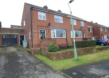 Thumbnail 3 bed semi-detached house for sale in West Drive, Lanchester, Durham