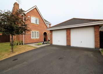 Thumbnail 4 bed detached house for sale in Bescot Way, Thornton-Cleveleys