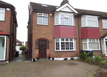 Thumbnail 4 bed end terrace house for sale in Countisbury Avenue, Bush Hill Park