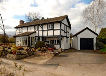 Thumbnail 4 bed detached house for sale in Hay On Wye 10 Miles, Herefordshire