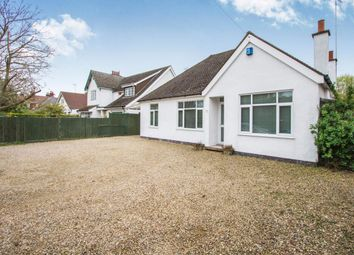 Thumbnail 2 bed bungalow for sale in Grove Road, Blaby, Leicester