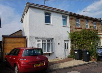 Thumbnail 2 bedroom semi-detached house for sale in Cromwell Road, Bournemouth