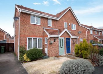 Thumbnail 3 bed semi-detached house for sale in Darwin Close, Huntington, York